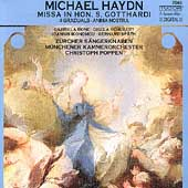 M. Haydn: Missa in Hon. S. Gotthardi, etc / Poppen, et al
