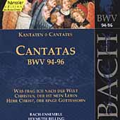 Edition Bachakademie Vol 30 - Cantatas BWV 94-96 / Rilling