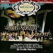 Handel: Messiah / Marriner, McNair, von Otter, Chance, et al