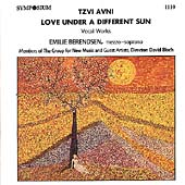 Love under a Different Sun - Avni: Vocal Works
