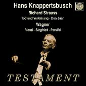 Strauss: Tod und Verkl&auml;rung, etc;  Wagner / Knappertsbusch