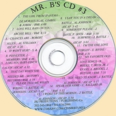 Mr. B (Boogie-Woogie): Mr. B's CD #3