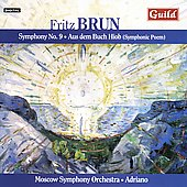 Brun: Symphony no 9, etc / Adriano, Moscow SO