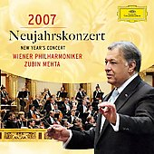 New Year's Concert 2007 / Mehta, Vienna Philharmonic