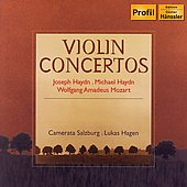 J. Haydn, M. Haydn: Violin Concertos;  Mozart / Hagen, et al