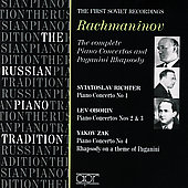 The Russian Piano Tradition - Richter, Zak, Oborin