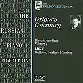 The Russian Piano Tradition - Grigory Ginzburg