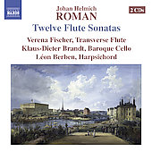 Roman: Flute Sonatas / Fischer, Brandt, Berben