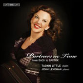 Partners in Time - Kreisler, Bach, Mozart, Grieg, Tchaikovsky, Bartok / Tasmin Little, John Lenehan