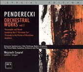 Penderecki: Orchestral Works, Vol. 1 [Special Edition]