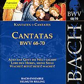 Bach: Cantatas, BWV 68-70