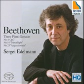 Beethoven: Sonata No. 4 'Moonlight', Sonata No. 23 'Appassionata' / Sergei Edelmann, piano
