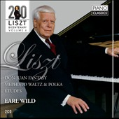 Liszt Bicentary Edition, Vol. 6: Don Juan Fantasy, Mephisto Waltz, Etudes / Earl Wild, piano