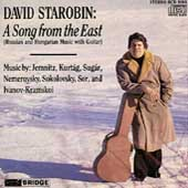 A Song From the East / David Starobin