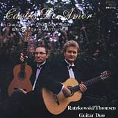Duo Guitar Music Played by the Ratzkowski-Thomasen Duo
