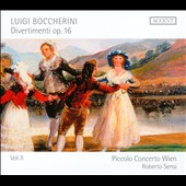 Boccherini: Divertimenti Op. 16, Vol. 2