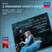 Britten: A Midsummer Night's Dream / McNair, Asaw, Lloyd, Davis