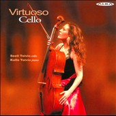 Virtuoso Cello - works by Paganini, Brahms, Sarasate, Wieniawski, Monti, Bassini / Seeli Toivio, cello; Kalle Toivio, piano