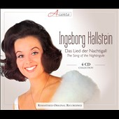 The Song of the Nightingale - Coloratura operetta arias / Ingeborg Hallstein, coloratura soprano [4 CDs]