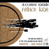 Alexander Borodin: Prince Igor / Ivan Petrov, Tatiana Tugarinova, Vladimir Atlantov. Mark Ermler