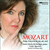 W.A. Mozart: Piano Concertos K.414, 415 & 449 (Chamber Version) / Anne-Marie McDermott, piano