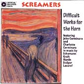 Screamers - Difficult Works for the Horn / Cerminaro, et al