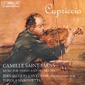 Capriccio - Saint-Sa&#235;ns: Music for Violin and Orchestra