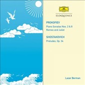 Prokofiev: Piano Sonatas No. 2 & 8; Romeo and Juliet; Shotakovich: Preludes Op. 34