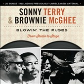 Sonny Terry/Sonny Terry & Brownie McGhee/Brownie McGhee: Blowin' the Fuses: From Studio To Stage [2/24]