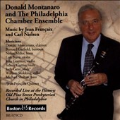 Poulenc, Martinu & Penderecki: Chamber Works for Woodwinds / Donald Montanaro, clarinet; Richard Woodhams, oboe; Bernard Garfield, bassoon; Kiyoko Takeuti piano