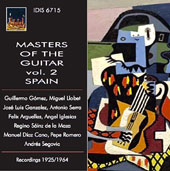 Masters of the Guitar, Vol. 2: Spain