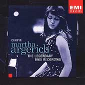 Chopin - The Legendary 1965 Recording / Martha Argerich