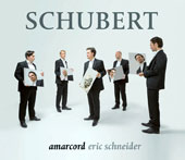 Schubert: Vocal Works, Lieder / Eric Schneider, Amarcord Ensemble