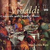 Vivaldi: Concertos, Chamber Music / Musica Alta Ripa