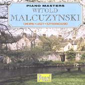 Piano Masters - Witold Malcuzynski - Chopin, Liszt, et al