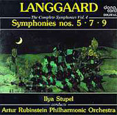 Langgaard: Symphonies 5, 7 & 9 / Ilya Stupel