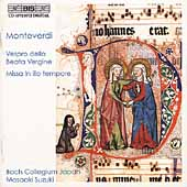 Monteverdi: Vespro della Beata Vergine / Suzuki, et al