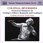 Tintner Memorial Edition Vol 12 - Colonial Diversions