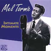 Mel Tormé: Intimate Moments