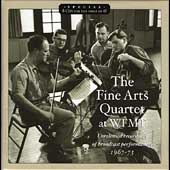 The Fine Arts Quartet at WFMT