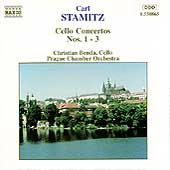 Stamitz: Cello Concertos nos 1-3 / Benda, Prague CO