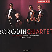 Beethoven: String Quartets Vol 6 / Borodin Quartet