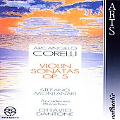 Corelli: Violin Sonatas / Dantone, Montanari, et al
