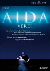 Verdi: Aida / De Munt / Kazushi Ono / Symphony Orchestra and Choir of La Monnaie [2 DVD]
