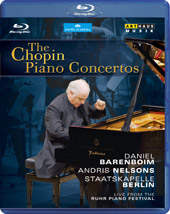 Chopin: The Piano Concertos / Daniel Barenboim [Blu-Ray]