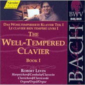 Edition Bachakademie Vol 116 - Well-Tempered Clavier Book I