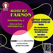 Farnon: Symphony no 2, etc / John Wilson, BBC SO