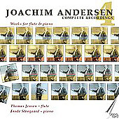 Andersen: Complete Works for Flute Vol 4 / Jensen, Stengaard