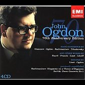 John Ogdon - 70th Anniversary Edition - Glazunov, Rachmaninov, Faure, Franck, Liszt, Litolff / John Ogdon, piano