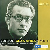 G&eacute;za Anda Vol 2 - Beethoven, Liszt, Brahms